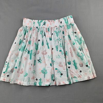 Girls size 8, Country Road, lightweight cotton cactus print skirt, FUC