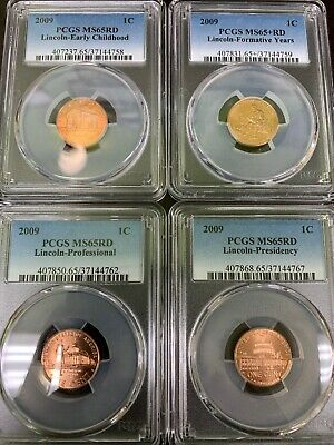 2009 Lincoln Penny Set PCGS