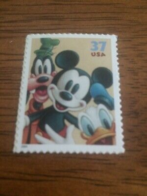 US Stamps Unused DIsney Mickey Mouse Goofy Donald Duck Collect or Use as Postage