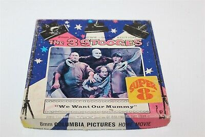 The 3 Stooges We Want Our Mummy Super 8 Movie 8mm