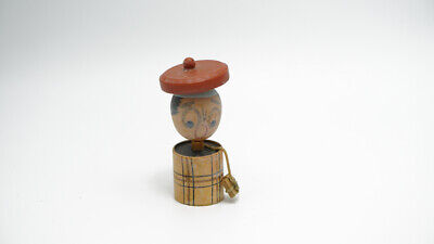 Vintage Kokeshi Doll Figurine Wood Antique Art Decoration Traditional Japanese