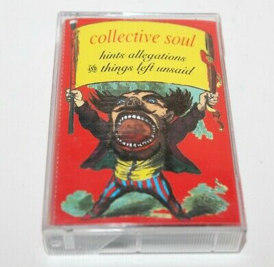 Collective Soul Hits Allegations Things Left Unsaid Cassette Tape Album 1993