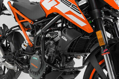 SW-MOTECH Sturzbügel Schwarz. KTM 125 (11-)/200 Duke (11-16). crash bar black. K