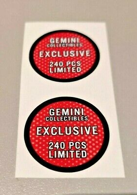 Funko POP! - Replacement Sticker - Gemini Collectibles (red- 240 pcs.) Exclusive