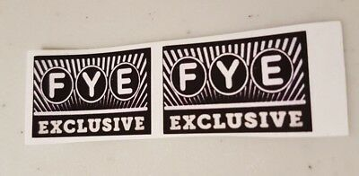 Funko POP! - Replacement Sticker - FYE (new) Exclusive (sold individually)