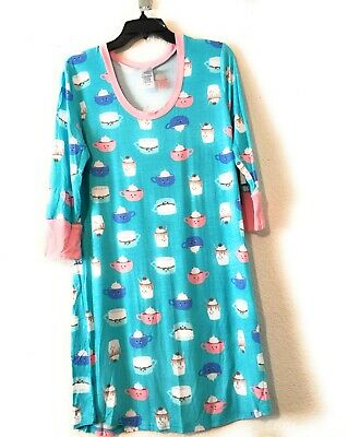 Toast & Jammies Women's sleep shirt Size M