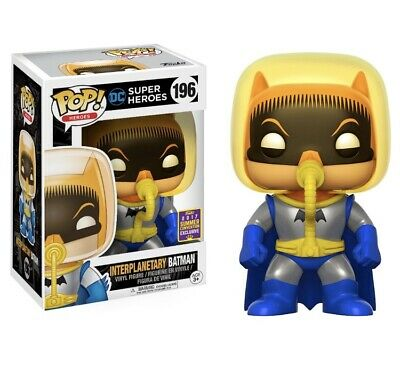 DC Interplanetary Batman #196 2017 SDCC Shared Exclusive Funko Pop!