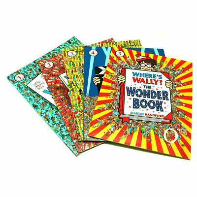 Martin Handfords Where's Wally 5 book collection New