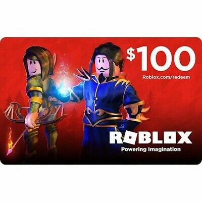 ***Roblox Gift Card Physical Online 100 Dollar Value for Robux Fast Delivery ***