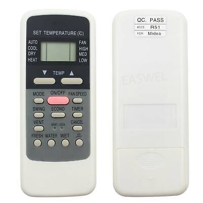 Fit Carrier Air Conditioner Remote Control - R51 R51I4/BGE