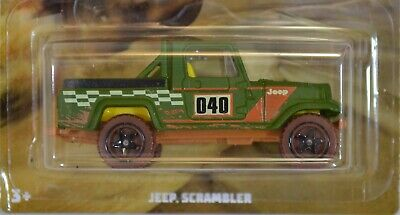 Jeep Scrambler Green 2019 Hot Wheels Off Road Trucks Series