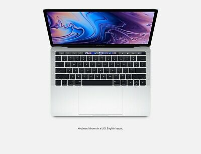 New MacBook Pro 2019 13in Intel Core i5 8th Gen 128/256GB 8GB RAM with Touch Bar