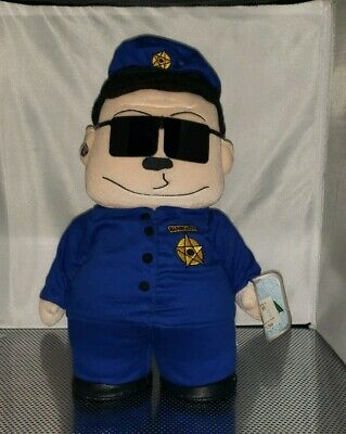 Vintage 1998 South Park Plush Officer Barbrady Fun 4 All Comedy Central Officer