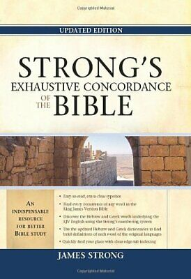 NEW - Strong's Exhaustive Concordance of the Bible (Facets)