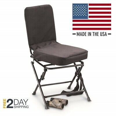 Pleasing New Banded Gear Swivel Blind Chair Duck Hunting Camo Pit Theyellowbook Wood Chair Design Ideas Theyellowbookinfo