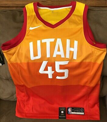 separation shoes d5f68 0bb61 DONOVAN MITCHELL UTAH Jazz Nike city edition jersey