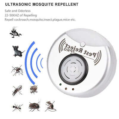 1pc Pest Reject Pro Ultrasonic Mosquito Repellent Home Insect Bug
