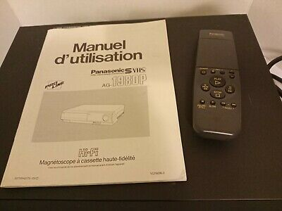 PANASONIC AG-1980p WITH REMOTE & MANUAL EXCELLENT WORKING CONDITION