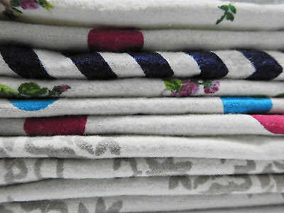 Cotton Flannel New Born Baby Absorbent Burp Cloth Diaper Wipes 100 Double Layer