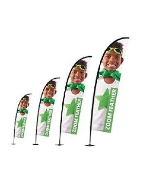 Printed Banner Exhibition Advertising Outdoor Display Flying Feather Flag