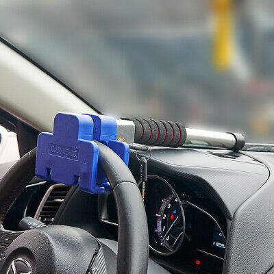 Steering Wheel Lock Vehicle Car Van Anti-Theft Security T-type Lock Universal