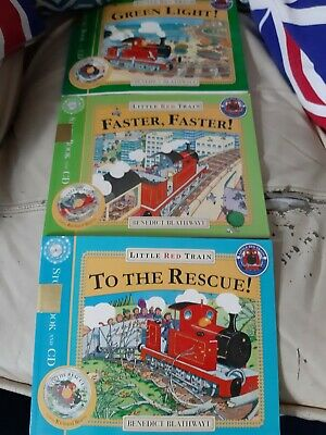little red trian childrens cd books the condition is excellent