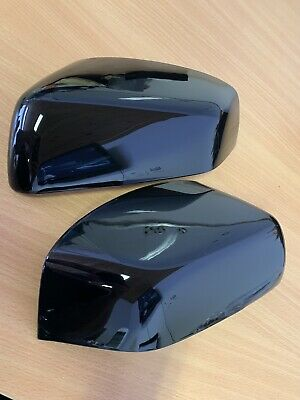 Gloss Black Wing Mirror Covers Range Rover Sport Discovery 3 Freelander 2