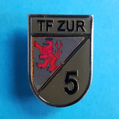 GERMANY GERMAN Military Army NATO KFOR Task Force ZUR 5th Contingent Pin Badge