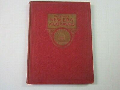 1942 Hammond's New Era Atlas of the World - Coupon to Order New Atlas After WWII