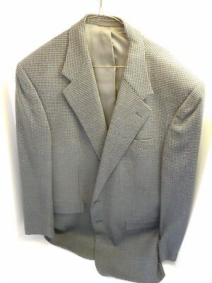 Sport Coat 42R Oliver Wool Blue Check Jacket