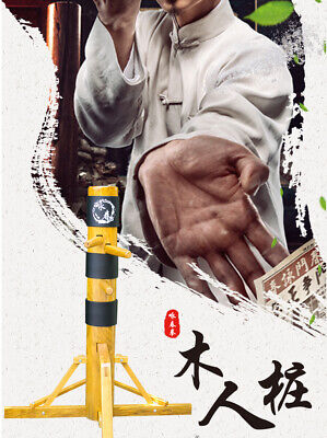 TRADITIONAL WING CHUN Solid Wooden Dummy Free Standing Frame