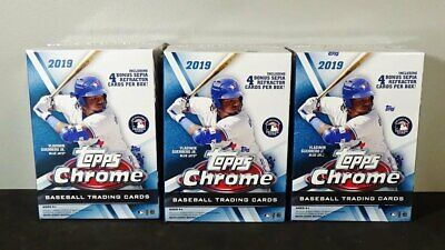 2019 Topps Chrome Baseball (1 - 204) - U PICK - COMPLETE YOUR SETS