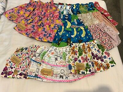 Children's Homemade Skirts Ages 0-18 Months