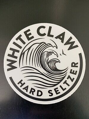 Official White Claw Hard Seltzer Sticker