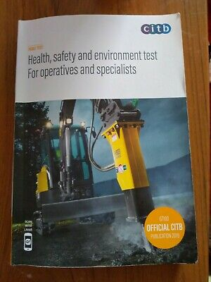 Health, safety and environment test for operatives and specialists (2019)