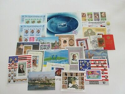 Collection of 20 MNH Souvenir Sheets - Worldwide - (Lot 950)