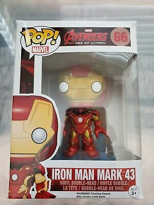 Funko Pop: Avengers 2 Age of Ultron #66 Iron Man Mark 43 Vaulted