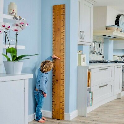 Wooden Ruler Height Chart - Personalised, Traditional, Authentic | Real Ruler Co