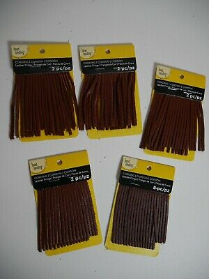 """LOT OF 5 Soft Suede Fringe For Leather Items Extra Long In 3.5"""" Long Strip"""