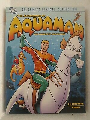 The Adventures of Aquaman - The Collection (DVD, 2007, 2-Disc Set) DC