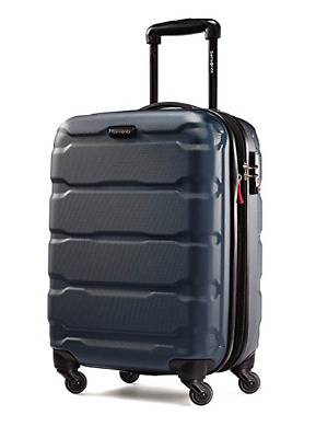 """Samsonite Omni Expandable Hardside PC Luggage Spinner With Wheels 20"""" Teal"""