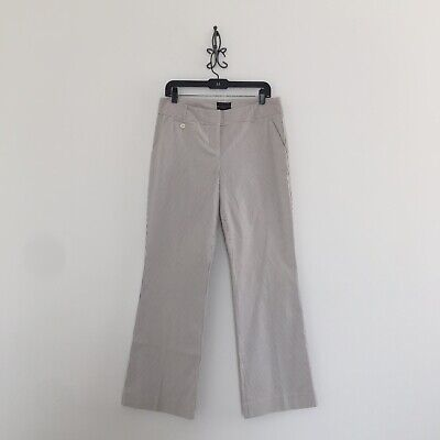 The Limited Cassidy Fit Seersucker Striped Pants Women's Size 8