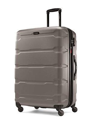 "Samsonite Omni Expandable Hardside PC Luggage With Spinner Wheels 28"" Silver"