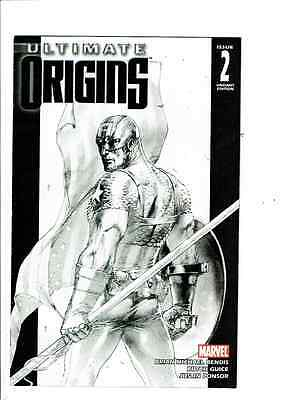 ULTIMATE ORIGINS #2 GABRIELE DELL'OTTO 1:75 SKETCH VARIANT MARVEL 2008 1st Print