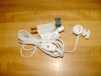 "Cord Set with ""Candelabra"" Socket, on/off switch and Plug"