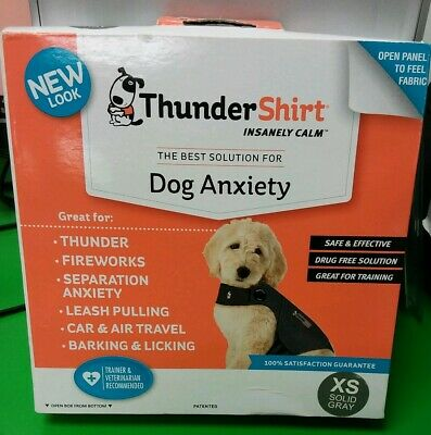 Thundershirt Dog XS Sold Gray for Dog Anxiety Extra Small BRAND NEW