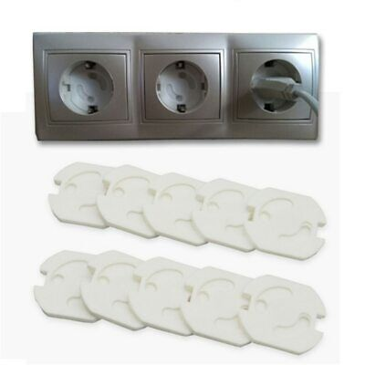 10pcs Baby Safety Rotate Cover 2 Hole Round European Standard Children Against