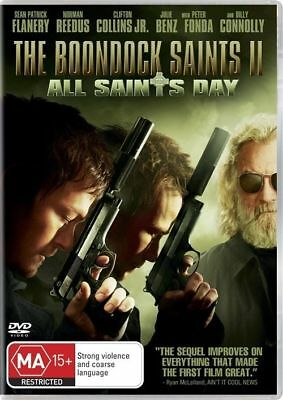 THE BOONDOCK SAINTS 2 : ALL SAINTS DAY : vgc  DVD  t41