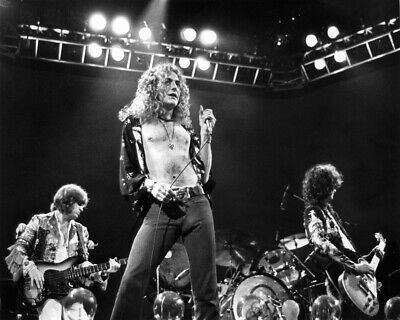 8x10 Led Zeppelin GLOSSY PHOTO photograph picture print image robert plant