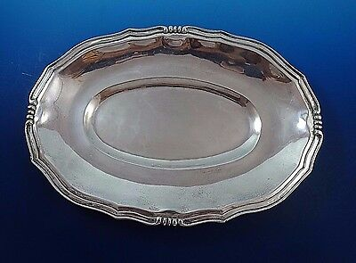"""Oval Mexican Sterling Silver Dish Bowl Platter 12 1/2"""" by 8"""""""